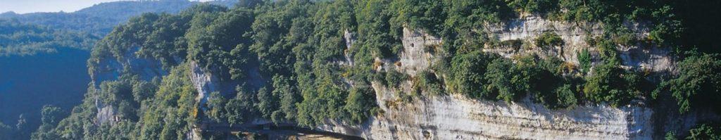 Vue de la Roque Saint Christophe